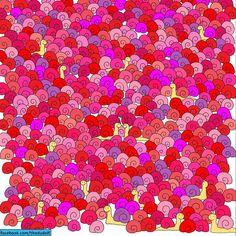 Unartista esconde ensus ilustraciones objetos tan simpáticos que esimposible noencontrarlos Puzzle Photo, Reto Mental, Find The Hidden Objects, Brain Twister, Hidden Picture Puzzles, Valentines Day Messages, Wheres Waldo, Hidden Pictures, Hidden Pics