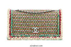 Would love this for around Christmas | Chanel tweed flapbag embellished - Google Search