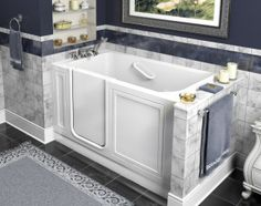 Delightful Different Types Of Bathtubs For Your Re Bath Bathroom Remodel Project.  #ReBath #