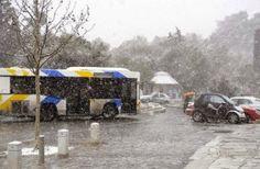 ΟΑΣΑ: Προβλήματα λειτουργίας λεωφορειακών γραμμών λόγω παγετού