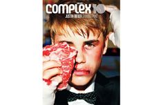 Justin Bieber for Complex Magazine's 10th Anniversary cover. Click through for a pretty cool behind-the-scenes video.