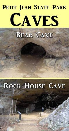 Petit Jean State Park is located northwest of Little Rock. Beautiful hiking trails and caves to explore on your family vacation this year! Click for trail and park information.