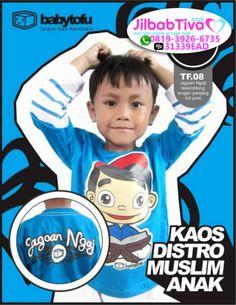 Kaos Anak Muslim Babytofu TF.08 Jago Ngaji