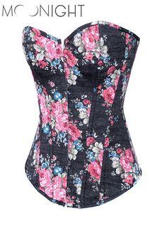 y Corsets and Bustiers printed Waist Training Corset Renaissance waist trainer cincher Corset tops Plus Size waist corsets Alternative Measures
