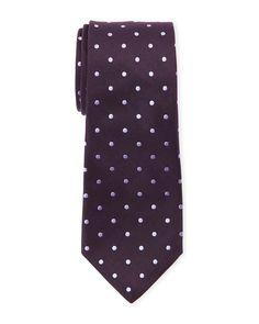 44c884ef1039 Paul Smith Purple Dotted Silk Tie Paul Smith, Silk Ties, Dots, Purple,