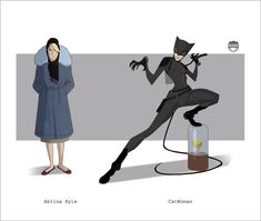 CATWOMAN - Selina Kyle By Kizer