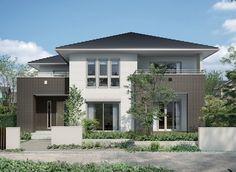 66 Ideas classic home design exterior Arch House, Facade House, Exterior House Colors, Exterior Design, Japan House Design, Country Home Exteriors, Home Design Software, Stone Houses, Japanese House