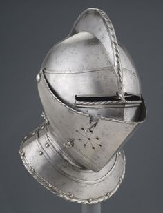 Philadelphia Museum of Art - Collections Object : Close Helmet Larp Sword, Coin Display Case, Great Fire Of London, Elder Scrolls Skyrim, Knights Helmet, Medieval Weapons, Philadelphia Museum Of Art, Knight Armor, Suit Of Armor