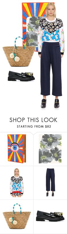"""Farmers market"" by beat-bop ❤ liked on Polyvore featuring Olympia Le-Tan, Au Jour Le Jour, 10 Crosby Derek Lam, Kayu and MSGM"