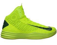 024c66237235 Cheap Nike Lunar Hyperdunk 2012 Team Brazil Volt Black Neon Yellow Shoes