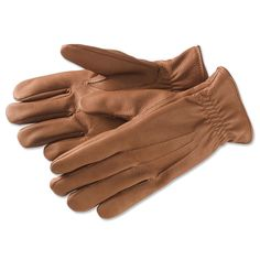 Deerskin Gloves - Cashmere-Lined Adirondack Deerskin Gloves -- Orvis on Orvis.com!