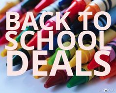 Back to School Deals!
