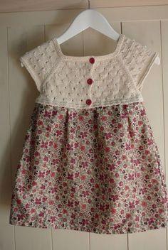 Kız Bebeklere Örgü Elbise Modelleri 63 - Mimuu.com