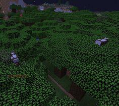 Orphea2012 Youtube et Minecraft: Minecraft / Les vaches sont sur les arbres, normal...