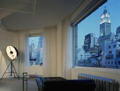 Libeskind loft by Alexander Gorlin Architects Contemporary Interior Design, Modern Interior, Interior Architecture, Living Room New York, City Living, Home Design Diy, House Design, Apartment Interior Design, Modern Luxury