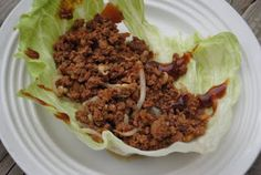 P.F. Chang's Lettuce Wraps done in a crockpot