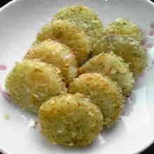 長芋のカリカリ焼き☆青のり風味