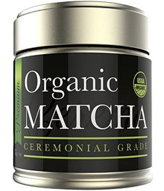 Matcha Green Tea Powder - Organic Ceremonial Grade - Japanese (1oz) - http://teacoffeestore.com/matcha-green-tea-powder-organic-ceremonial-grade-japanese-1oz/