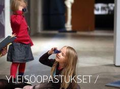 EMMA Espoo Kuva Kurkistuksia-blogista: Lapset opastuksella