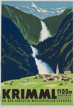 Ski Posters, Railway Posters, Art Deco Posters, Retro Posters, European Road Trip, Poster City, Plakat Design, Tourism Poster, Vintage Graphic Design