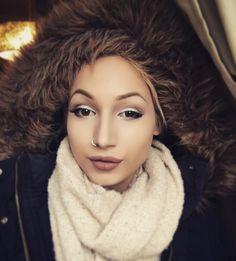 Winterfashion  Coat #zara  Makeup by me