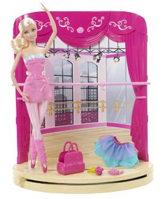 Barbie in the Pink Shoes Ballet Studio Playset Barbie http://www.amazon.com/dp/B009F7OSMU/ref=cm_sw_r_pi_dp_KcGuvb0RHWZCF