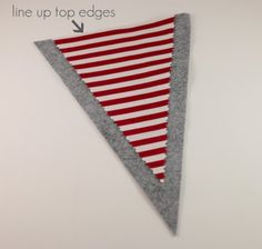 Gwenny Penny: Valentine's Flag Bunting Tutorial