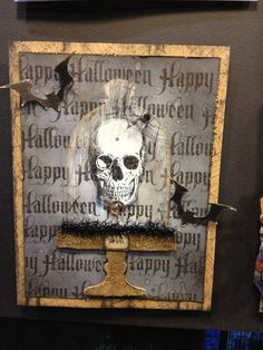Tim Holtz Halloween Card