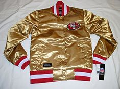 **WOMEN**LADIES**San Francisco 49ers GOLD Satin Jacket - NFL Team Apparel -  New Nfl Sports Gear (**WOMEN**LADIES**San Francisco 49ers GOLD Satin Jacket - NFL Team Apparel) has been published on NFLShop4U. Visit our NFL clothing store to buy online - http://nflshop4u.com/shop/womenladiessan-francisco-49ers-gold-satin-jacket-nfl-team-apparel/