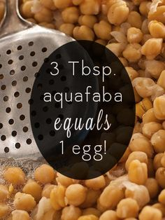 The New Vegan Egg Replacer that's Already in Your Pantry