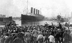 Feb 8. 100 years since Lusitania sinking