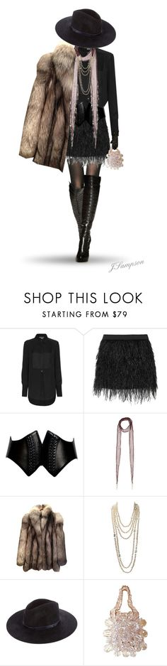 """""""Party Girl"""" by shadedlady ❤ liked on Polyvore featuring Vince, Mason by Michelle Mason, Alaïa, Chan Luu, 32 Paradis Sprung Frères, Chanel, rag & bone, Vince Camuto, women's clothing and women"""