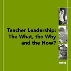Great insights into teacher leadership from the Whole Child Symposium.