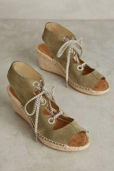 9726ef03340 Maypol Slingback Espadrilles Schuhe Mit Hohen Keilabsätzen