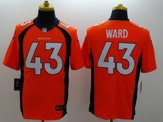 ... Womens Nike NFL Denver Broncos 43 T.J. Ward Black Fashion Jerseys  Denver Broncos Jerseys Pinterest Nfl