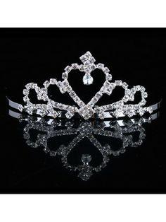Beauitful Rhinestiones and Zircon Wedding Bridal Tiara