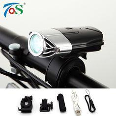USB 충전식 자전거 전면 자전거 액세서리 손전등 리튬 배터리 높은 전력 자전거 LED 헤드 라이트 방수