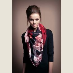 Tuch Oktopus, now featured on Fab. Octopus Print, Fashion Beauty, Fashion Tips, Fashion Design, Cute Scarfs, Fashion For Petite Women, Textiles, Fashion Prints, Business Women