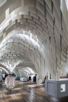 The shape of things: snd concept store by architecture interior design, store interior Shop Interior Design, Design Shop, Interior Design Magazine, Retail Design, Design Art, Architecture Design, Amazing Architecture, Architecture Interiors, China Architecture