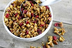 You're in for a treat with this Paleo Granola recipe! Delicious on its own or served on top of canned coconut milk or yogurt.