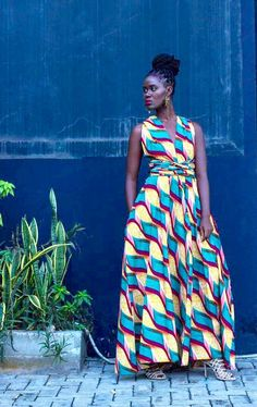 Look at this Cool latest african fashion outfits 4747386680 African Attire, African Fashion Dresses, African Dress, Fashion Outfits, African Outfits, African Clothes, African Wear, Ladies Fashion, Fashion Pants
