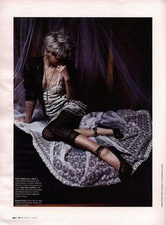Mario Sorrenti - Photographer  Camilla Nickerson - Fashion Editor/Stylist  Luigi Murenu - Hair Stylist  Lucia Pieroni - Makeup Artist  Philipp Haemmerle - Set Designer