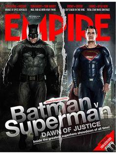 Batman e Superman estão na capa da revista Empire! - Notícias de cinema - AdoroCinema