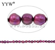 Grade A 11-12mm Hole:Approx 0.8mm Length:15Inch natural purple Potato Cultured Freshwater Pearl Beads Jewelry Making diy