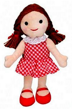 Dolly for Sue Misfit Build a Bear 2010 Rudolph Island Collection Suzy's Doll New