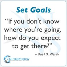 Set Goals To Get Results