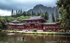 Byodo-In Temple by Sam Sellers on 500px Taken on the island of Oahu - such a peaceful little place stored away in the mountains on Oahu's northern side.