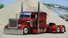 American Muscle Truck Peterbil - Truck, Car, Peterbilt, Peterbilt Truck, Semi Truck, Sport Truck, Sema Show, Custom Truck, Truck Show, Custom Peterbilt