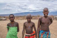 Shepherd boys,  Olturot, Marsabit, Northern Kenya.