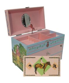 Take a look at this MK and Company English Rider Music Box on zulily today!
